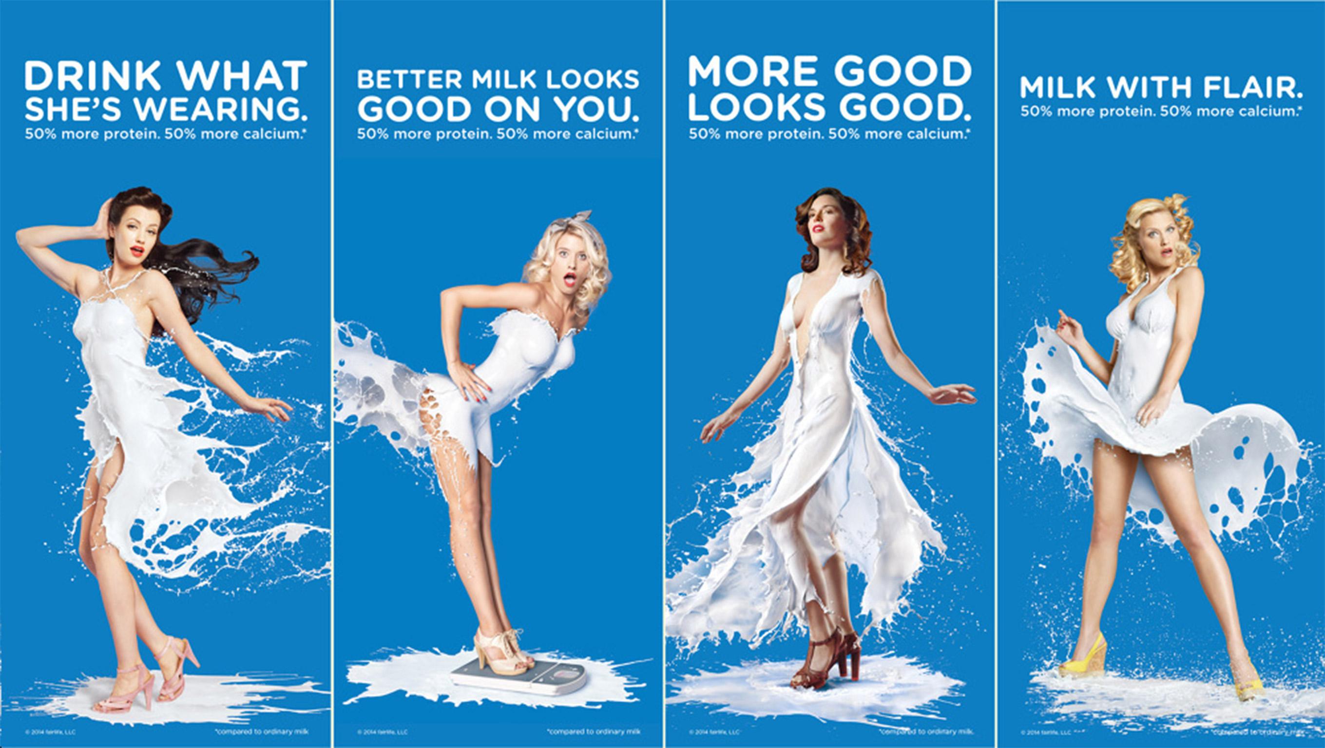 sexy milk ad
